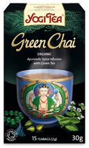 YOGI TEA CHAI GREEN