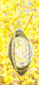 Livets blomma, mobil av ädelstål, stor
